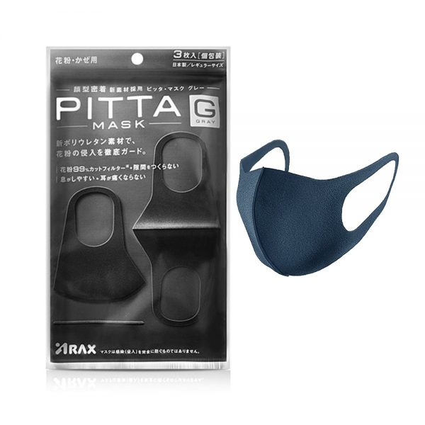 ماسک تنفسی کاشت ناخن پیتا | PITTA بسته 3 عددی