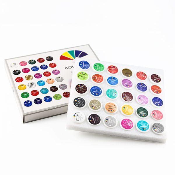 پک 30 عددی ژل کاسه ای طراحی ناخن کالر پرو   KOLOR PRO