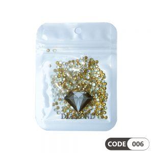 نگین دیزاین ناخن کد 006 دیاموند | DIAMOND
