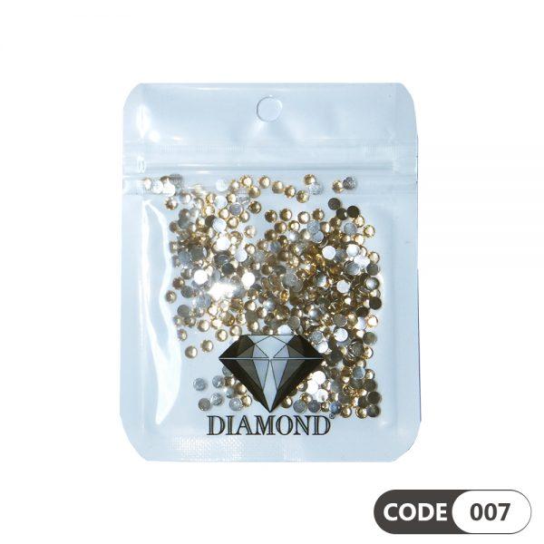 نگین دیزاین ناخن کد 007 دیاموند | DIAMOND
