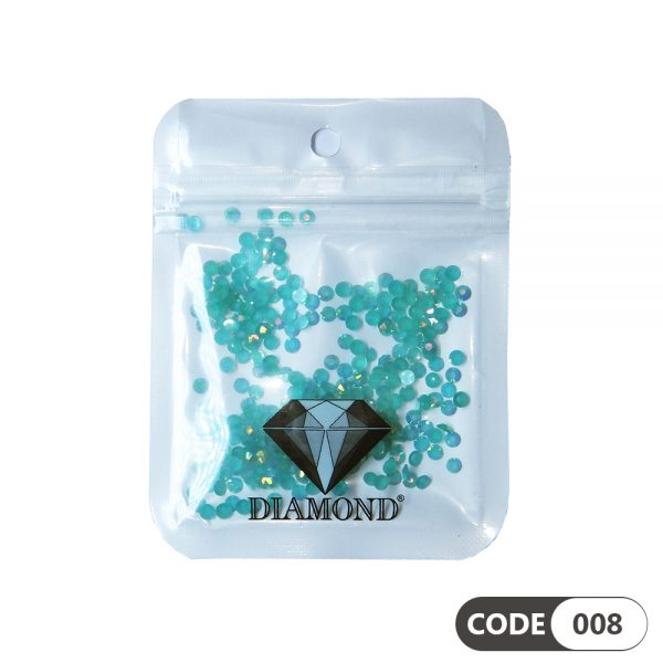 نگین دیزاین ناخن کد 008 دیاموند | DIAMOND