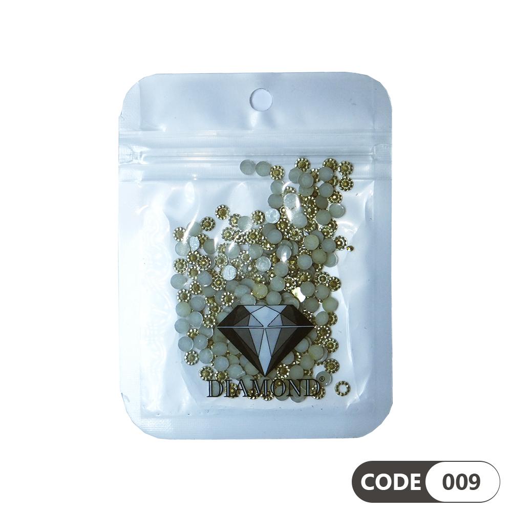 نگین دیزاین ناخن کد 009 دیاموند | DIAMOND
