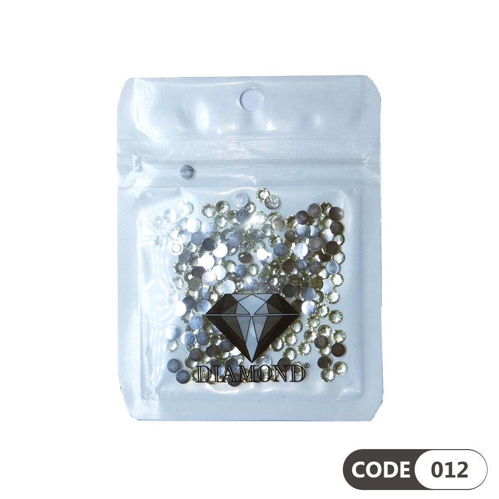 نگین دیزاین ناخن کد 012 دیاموند | DIAMOND