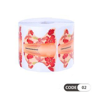 فرمر کاغذی پروانه ای گلدار کد 02