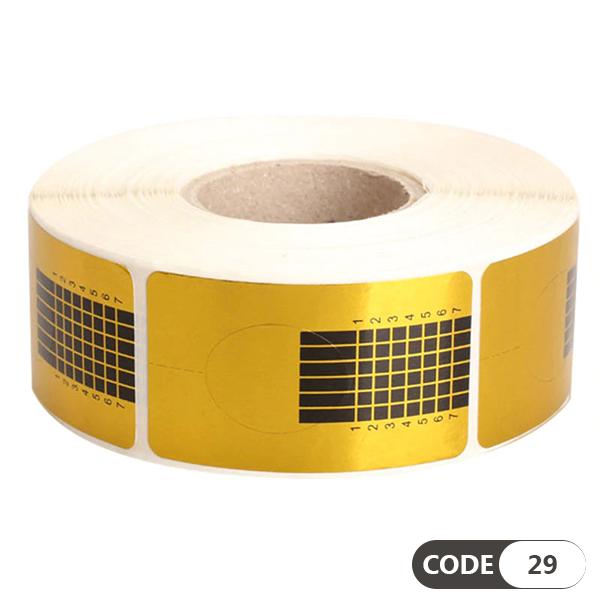 فرمر کاغذی طلایی کد 29