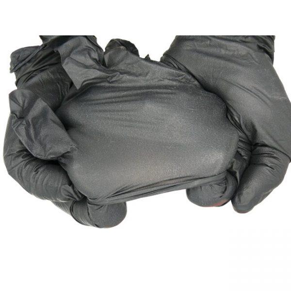 دستکش کاشت ناخن نیتریل OP PERFECT مشکی سایز S