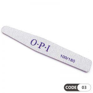 سوهان دستی ناخن 100/180 لوزی کد 03 او پی آی | OPI
