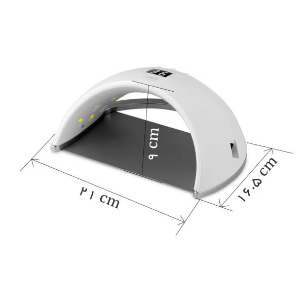 دستگاه یووی ال ای دی UV – LED ناخن 48 وات مدل 6S سان | SUN