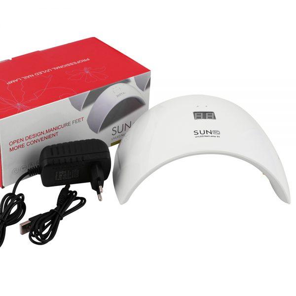 دستگاه یووی ال ای دی UV – LED ناخن 24 وات مدل 9S سان | SUN