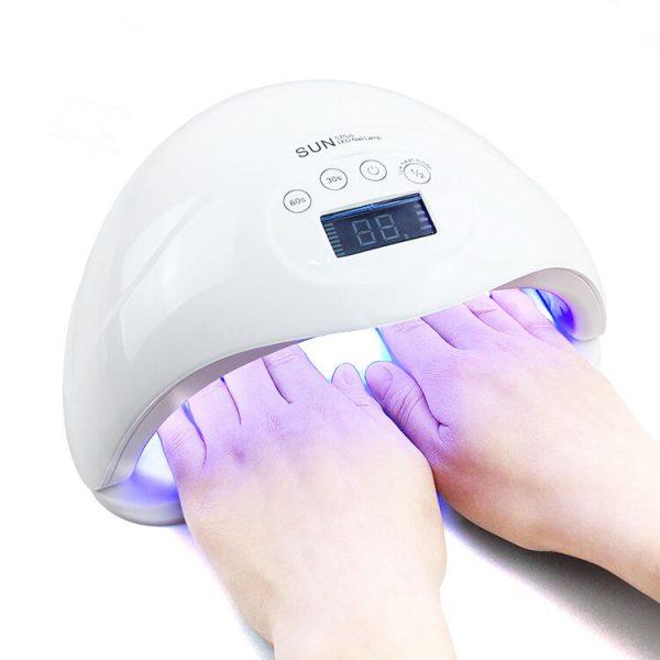 دستگاه یووی ال ای دی UV – LED ناخن 48 وات مدل 5plus سان | SUN