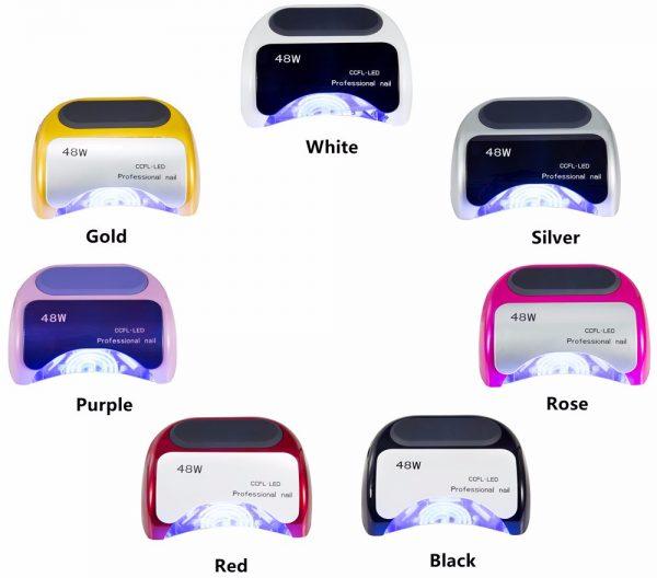 دستگاه یووی ال ای دی UV – LED ناخن 48 وات