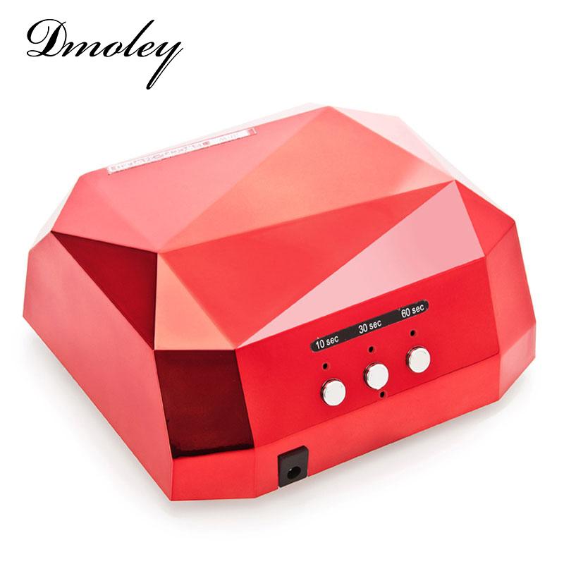 دستگاه یووی ال ای دی دستگاه یووی ال ای دی UV – LED ناخن 36 وات دیاموند   DIAMOND