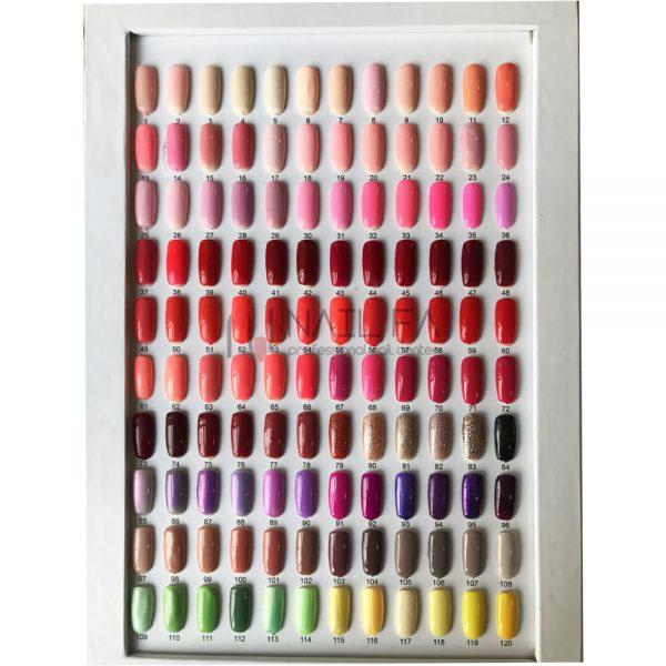 لاک ژل سه مرحله ای 240 رنگی میا | MIAA